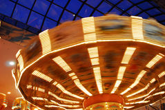 Fileur dans le funfair Photos stock