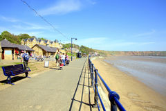 Filey Yorkshire Arkivfoton