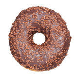 Filhós do chocolate Isolado Imagens de Stock