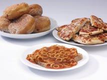 Filhóses, aros do nd da pizza Imagem de Stock Royalty Free