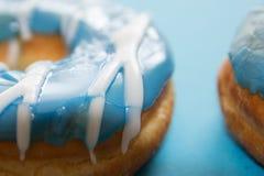 Filhóses azuis Imagens de Stock Royalty Free