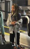 Filha de Smith do salgueiro da actriz de Will Smith em RELAXADO Imagens de Stock Royalty Free