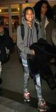 Filha de Smith do salgueiro do cantor de Will Smith em RELAXADO Foto de Stock Royalty Free