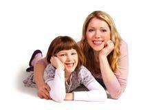 filha e matriz Foto de Stock