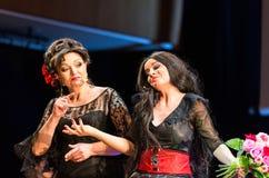 以Filharmonia Futura和M为特色的景象 Walewska -歌剧是生活, 库存照片