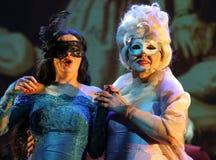以Filharmonia Futura和M为特色的景象 Walewska -歌剧是生活 免版税库存图片