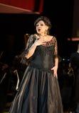 以Filharmonia Futura和M为特色的景象 Walewska -歌剧是生活 库存图片