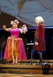 以Filharmonia Futura和M为特色的景象 Walewska -歌剧是生活 库存照片