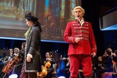 以Filharmonia Futura和M为特色的景象 Walewska -歌剧是生活 免版税库存照片