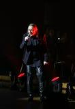 Filharmonica - le spectacle de multimédia avec la musique par Metallica, nirvana, confiture de perle, Deep Purple, AC/DC, lance N Images libres de droits