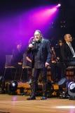 Filharmonica - le spectacle de multimédia avec la musique par Metallica, nirvana, confiture de perle, Deep Purple, AC/DC, lance N Photographie stock libre de droits