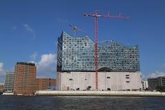 filharmoniczna Elbe sala Fotografia Royalty Free