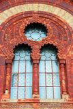 Filharmonisk byggnad i Uzhgorod, Ukraina Arkivbild