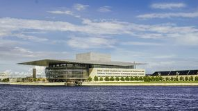 Filharmonisk Köpenhamn royaltyfria bilder