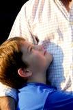Filho do pai Foto de Stock