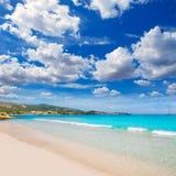 Filho Maties Mallorca da praia de Majorca Platja Palmanova fotografia de stock royalty free