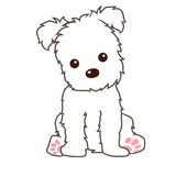 Filhote de cachorro ilustração stock