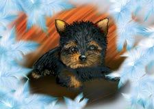 Filhote de cachorro ilustração royalty free