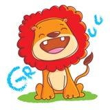 Filhote de cachorro do leão Fotografia de Stock Royalty Free