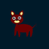 Filhote de cachorro do vetor Fotografia de Stock