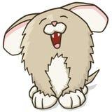 Filhote de cachorro dos desenhos animados Foto de Stock