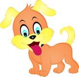 Filhote de cachorro dos desenhos animados Imagens de Stock Royalty Free