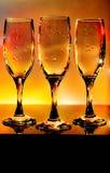 Filiżanek szkła Obraz Royalty Free