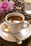 filiżankę espresso obraz stock