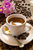 filiżankę espresso fotografia stock