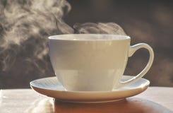 filiżankę gorącej herbaty Zdjęcia Stock
