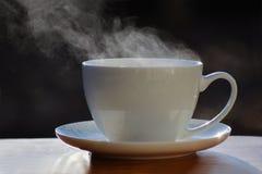 filiżankę gorącej herbaty Zdjęcie Royalty Free