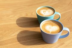 Filiżanka cappuccino obrazy stock