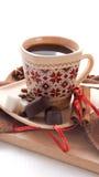 Filiżanka czarna kawa zdjęcie royalty free