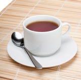 Filiżanka czarny herbata obrazy stock