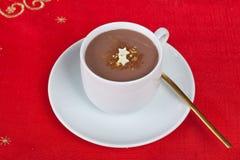 Filiżanka gorąca czekolada Zdjęcie Stock