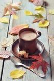 Filiżanka gorąca czekolada fotografia stock