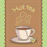 Filiżanka gorąca herbata Zdjęcie Stock