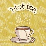 Filiżanka gorąca herbata Obraz Stock
