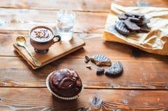 filiżanka gorącej czekolady Zdjęcia Royalty Free