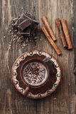 Kakao i czekolada obraz royalty free