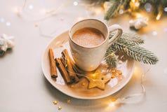 Filiżanka gorący kakao obrazy stock