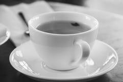 Filiżanka herbata i łyżka Zdjęcie Stock