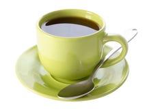 Filiżanka herbata na białym tle zdjęcie stock