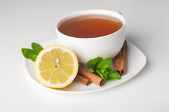 Filiżanka herbata z cytryną Obraz Royalty Free