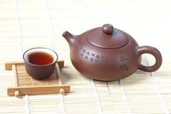 Filiżanka herbata z teapot Fotografia Royalty Free