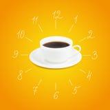 Filiżanka kawa espresso ilustracja wektor