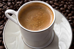 Filiżanka kawa espresso Fotografia Stock