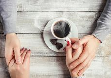 Filiżanka kawy napój zdjęcie royalty free