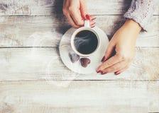Filiżanka kawy napój obrazy stock