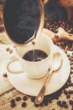 Filiżanka kawy napój fotografia royalty free